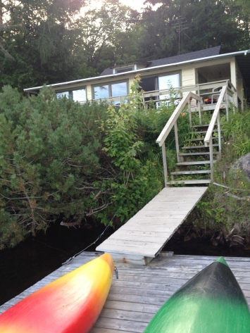 'Snowy Owl Camp': our cottage on Cranberry Lake