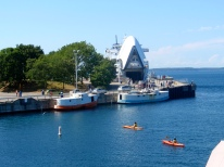 Tobermory harbor, car ferry to Manitoulin Island