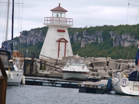 Lighthouse at Lion's Head, Bruce Peninsula, Ontario